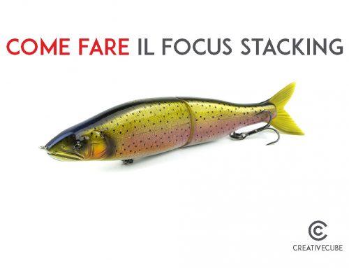 Come fare il focus stacking