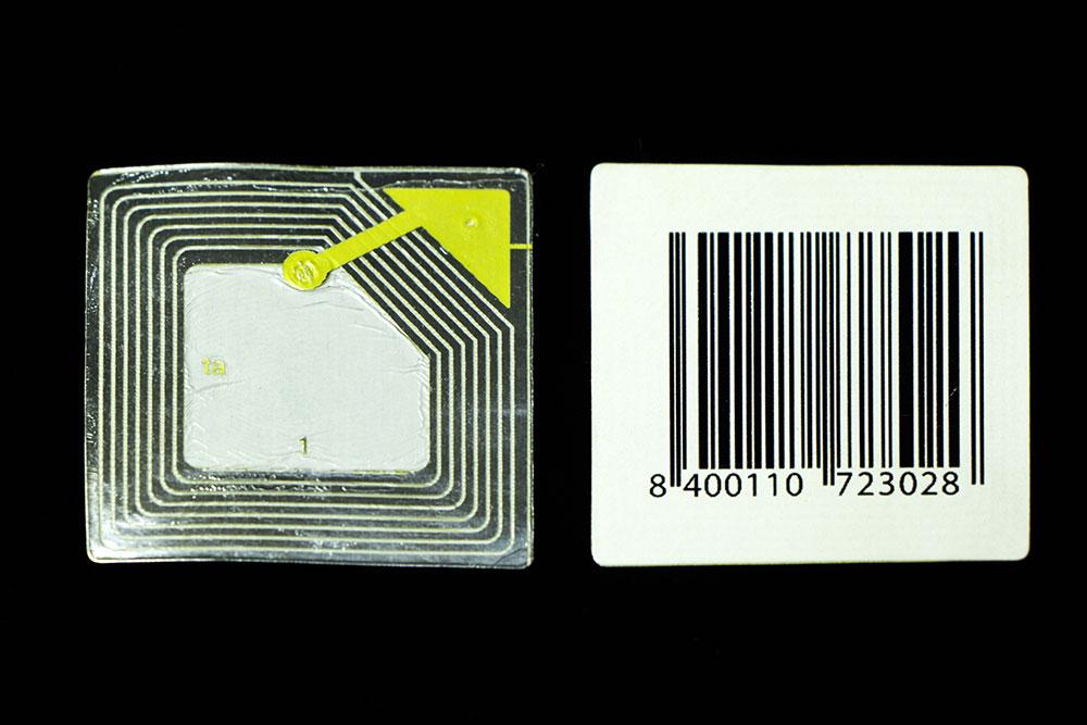 Scelta del codice a barre per etichette 3